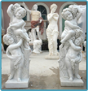 Marble Bacchus Children, Right or Left