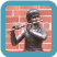Boy with Violin Bronze Statue