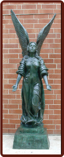 Standing Angel, Arms down