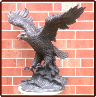 Bronze Eagles Table Base