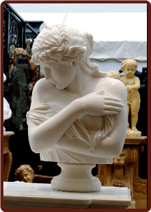 Diana Marble Bust