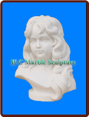* MARBLE BUST small sculpture