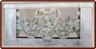 Balustrade With Cupids