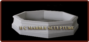 Octagon Shaped Marble Base