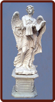 Saint Angelo's Angel Statue W/ Base ( A )