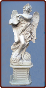 Saint Angelo's Angel Statue W/ Base ( B )