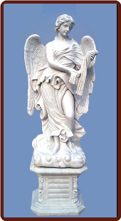 Saint Angelo's Angels Statue W/ Base ( D )
