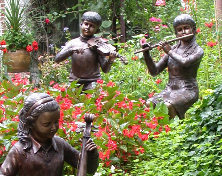 See Bronze Garden Fountains Which Include